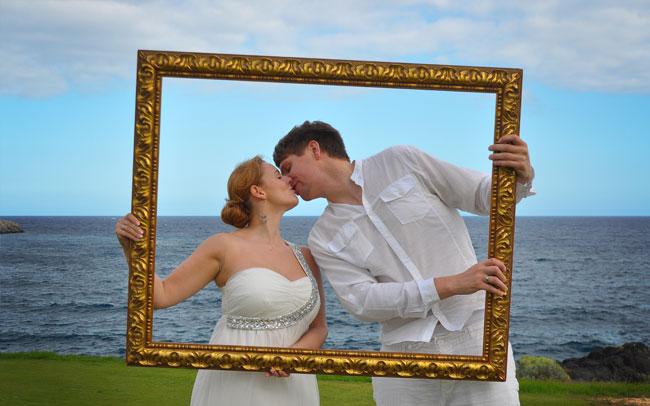 wedding photographs spain canary islands