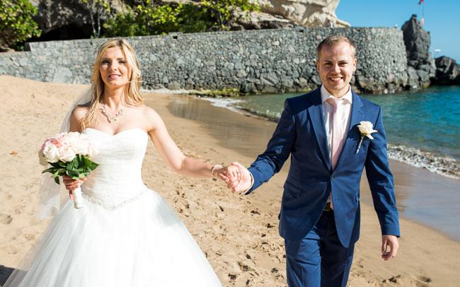 wedding photo shoot in spain canary islands tenerife