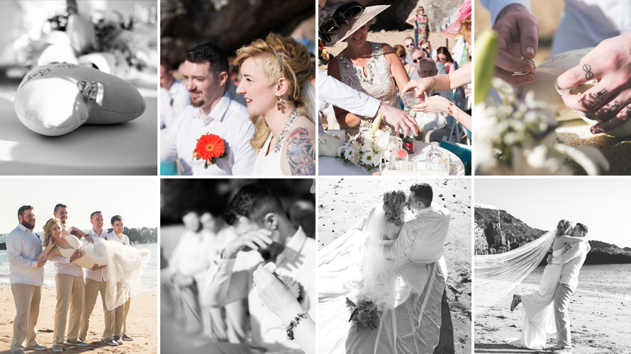 just married photoshoot photography by our professional photography in Tenerife