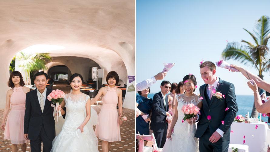 trash wedding dress photoshoot canary islands