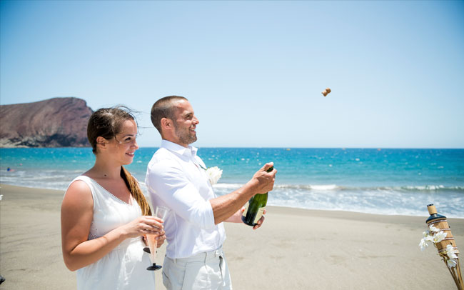 after wedding photographer in tenerife canary island