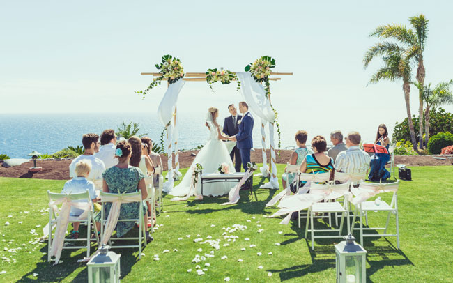 Canary islands greate destination for the newlyweds especially  Tenerife