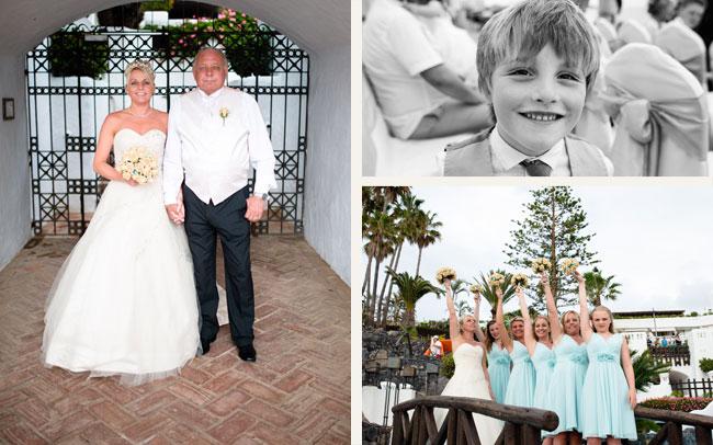 photography tenerife newly weds