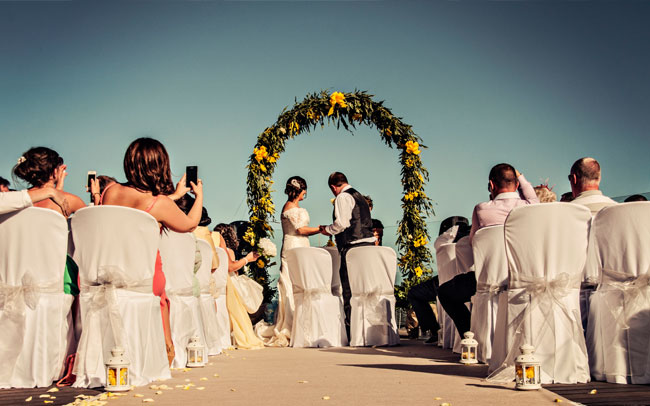happy couple with photography on the island of tenerife canary islands