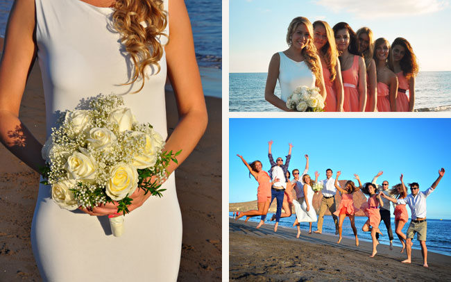 best and beautiful wedding photographs of weddings in Tenerife