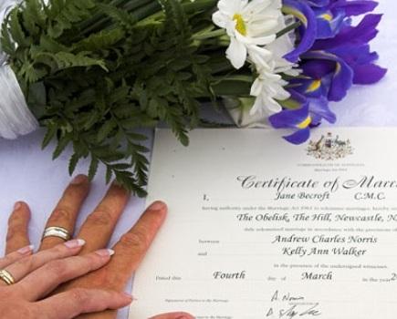 Hochzeitsdokumente Teneriffa
