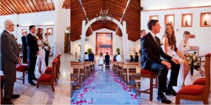 Wunderschöne kirchliche Hochzeit auf Teneriffa