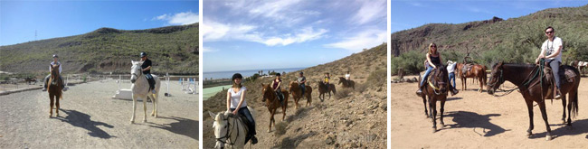 horseback riding Tenerife