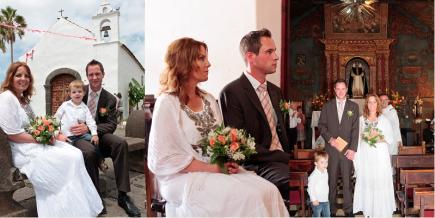 Kirchliche Hochzeit Teneriffa