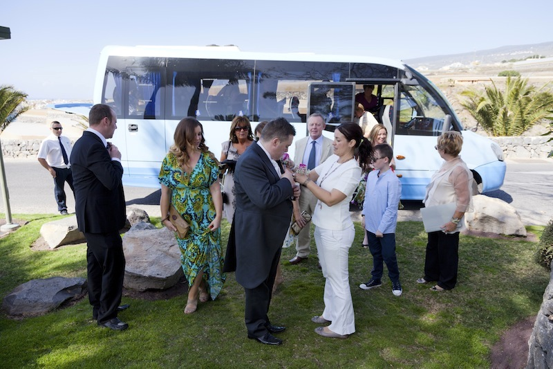 Tenerife minibus for your wedding