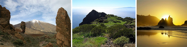 Tenerife natural parks