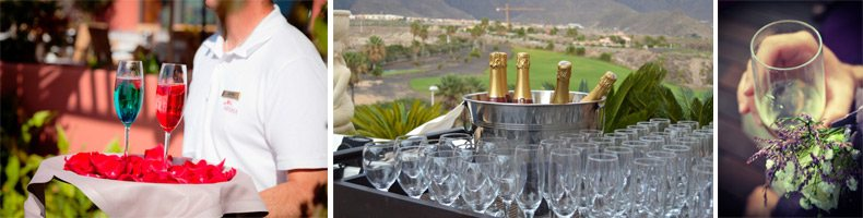 Tenerife wedding catering / aperitiv