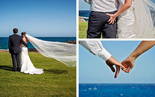 fotografía después de la boda islas canarias