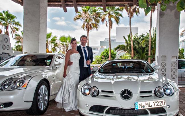 sesión de fotos despúes de la boda islas canarias