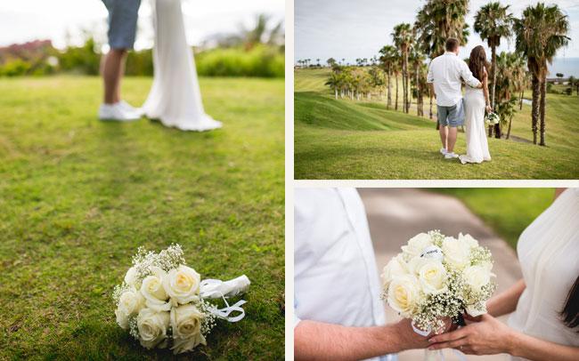 españa bonitas fotos de boda tenerife