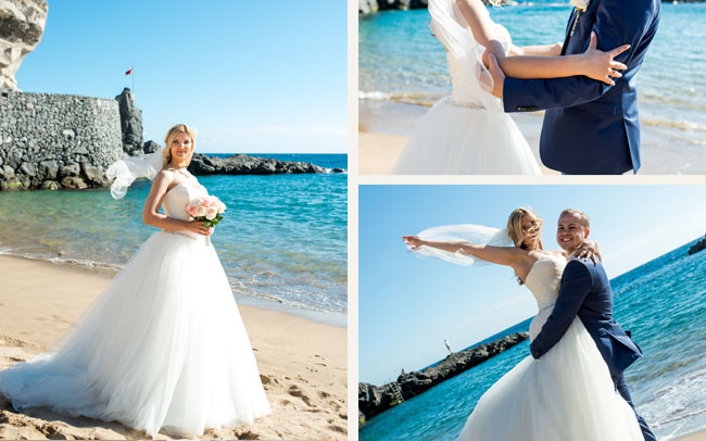 fotos de boda islas canarias tenerife
