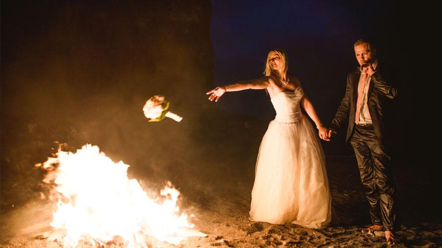 fotos después de la boda en tenerife. islas canarias