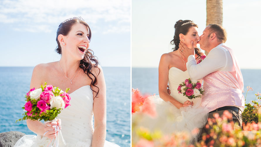sesión de fotos despues de la boda tenerife