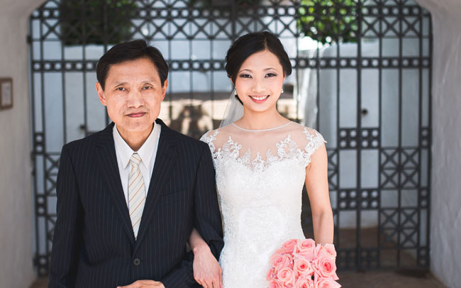 tenerife marriage of newlyweds