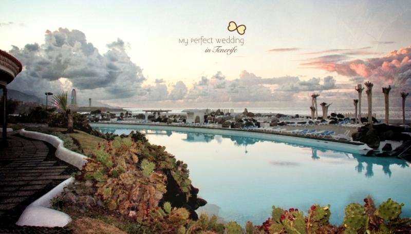 213ec0b98 Ceremonia de bodas hermosa e íntima en Tenerife