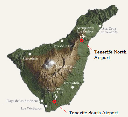 How to get to Tenerife