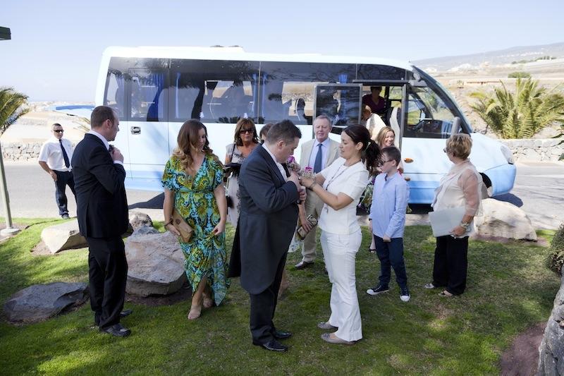 Tenerife minibus for your wedding