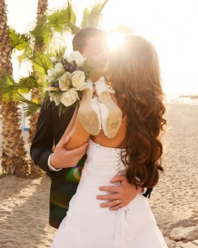 Getting married on the beach in Tenerife by My Perfect Wedding