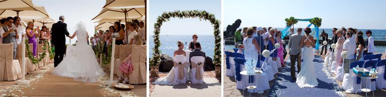 tenerife wedding ceremony, wedding celebrant