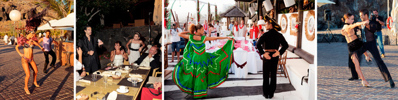 Wedding entertainment and shows in the Canary Islands