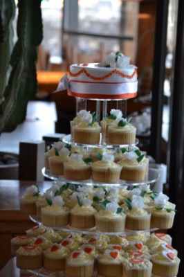 wedding cupcakes in tenerife