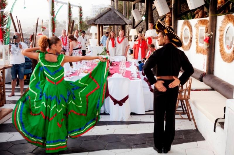 Wedding entertainment in Tenerife