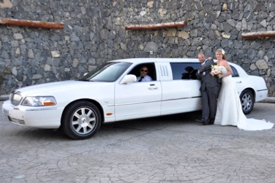 wedding transfer tenerife limousine