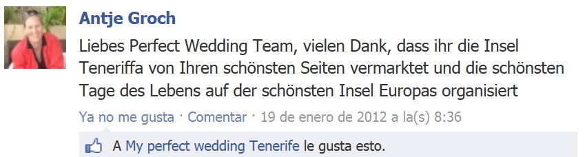 Tenerife Weddings Testimonials (6)