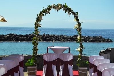 Traumhochzeit Auf Der Kanarischen Insel Auf Einer Exklusiven Promenade